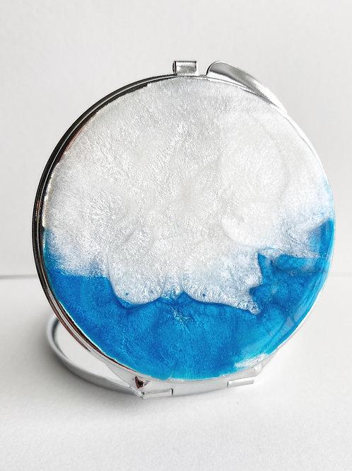 """Sea Shore"" Compact Mirror"