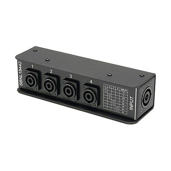 NL8 - 4 x NL4 Breakout Box