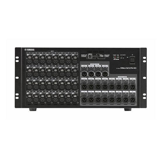 Yamaha RIO3224 I/O Rack