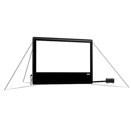 40' (12m) Outdoor Inflatable Projection Screen