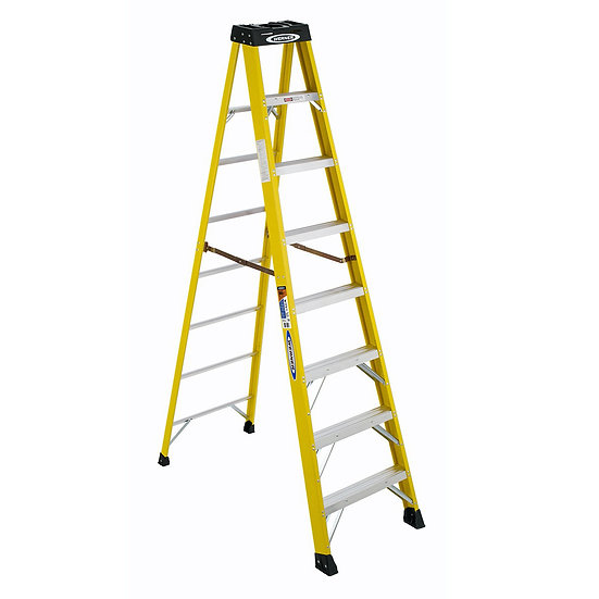 8 Rung Werner Step Ladder (2.23M)
