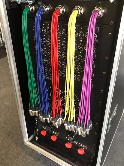 64 Channel, 4 Way Line Split System
