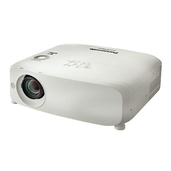 Panasonic PT-VZ570 LCD Projector (1.1-1.9:1)