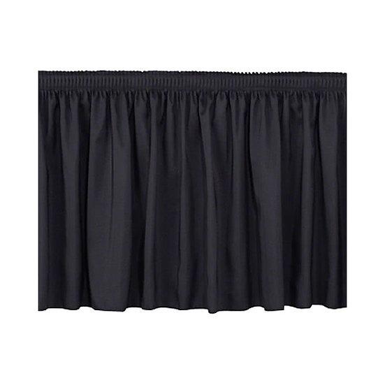 Prolyte Black Stage Skirt 4M x 620mm