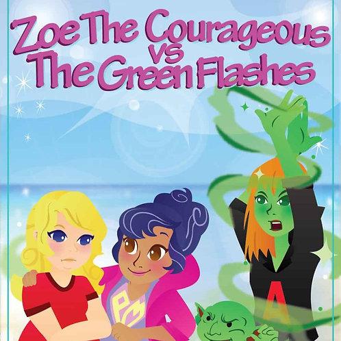 Zoe v. the Green Flashes