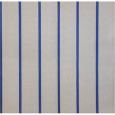 Silver with Blue Lines