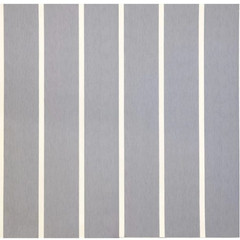Silver with White Lines
