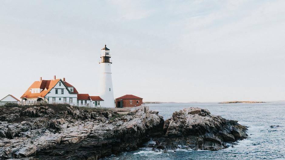 Southern Maine and Boston, Massachusetts