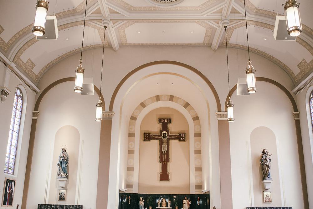 Interior Three Holy Women Saint Hedwig church