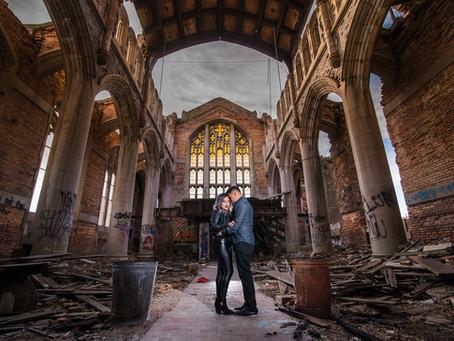 Jose & Jasmin | Engagement Photo Shoot | Lakefront Chicago | Gary Indiana | Wedding & Engage