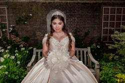 stunning quinceanera photo by Olga and Jose Chicago Photographres