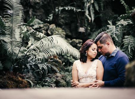 B & G | Chicago Lincoln Park Engagement Photos | Wedding & Engagement photographers Olga and