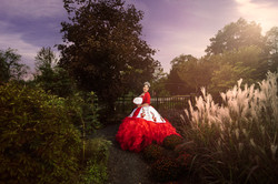 charro quince posing for chicago photographer