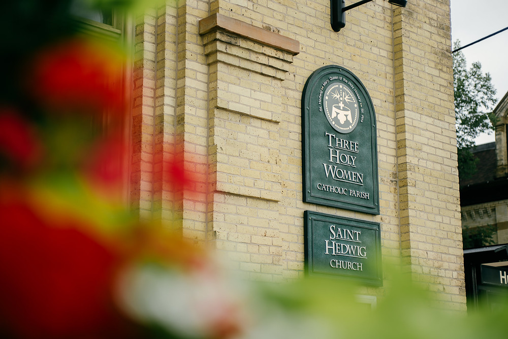Three Holy Women Saint Hedwig church