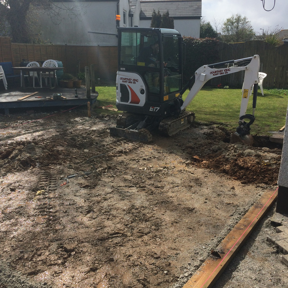 Pool, Groundworks