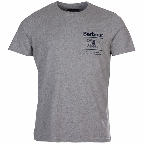 Barbour Grey Reed T-Shirt 8083