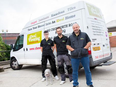 Catch up with Kevin at iDeal flooring