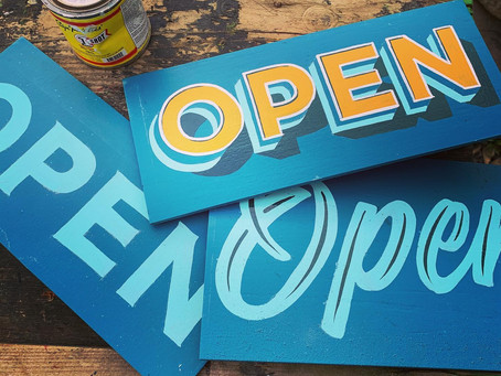 'Chesterfield is OPEN' Creative Project