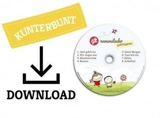 Namenslieder KUNTERBUNT (Download)