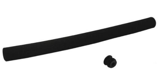 Lenkergriffe Schaumstoff 360 mm schwarz
