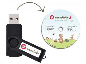 Namenslieder mit Sky du Mont - USB Stick