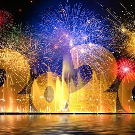 Celebrando la llegada del año nuevo