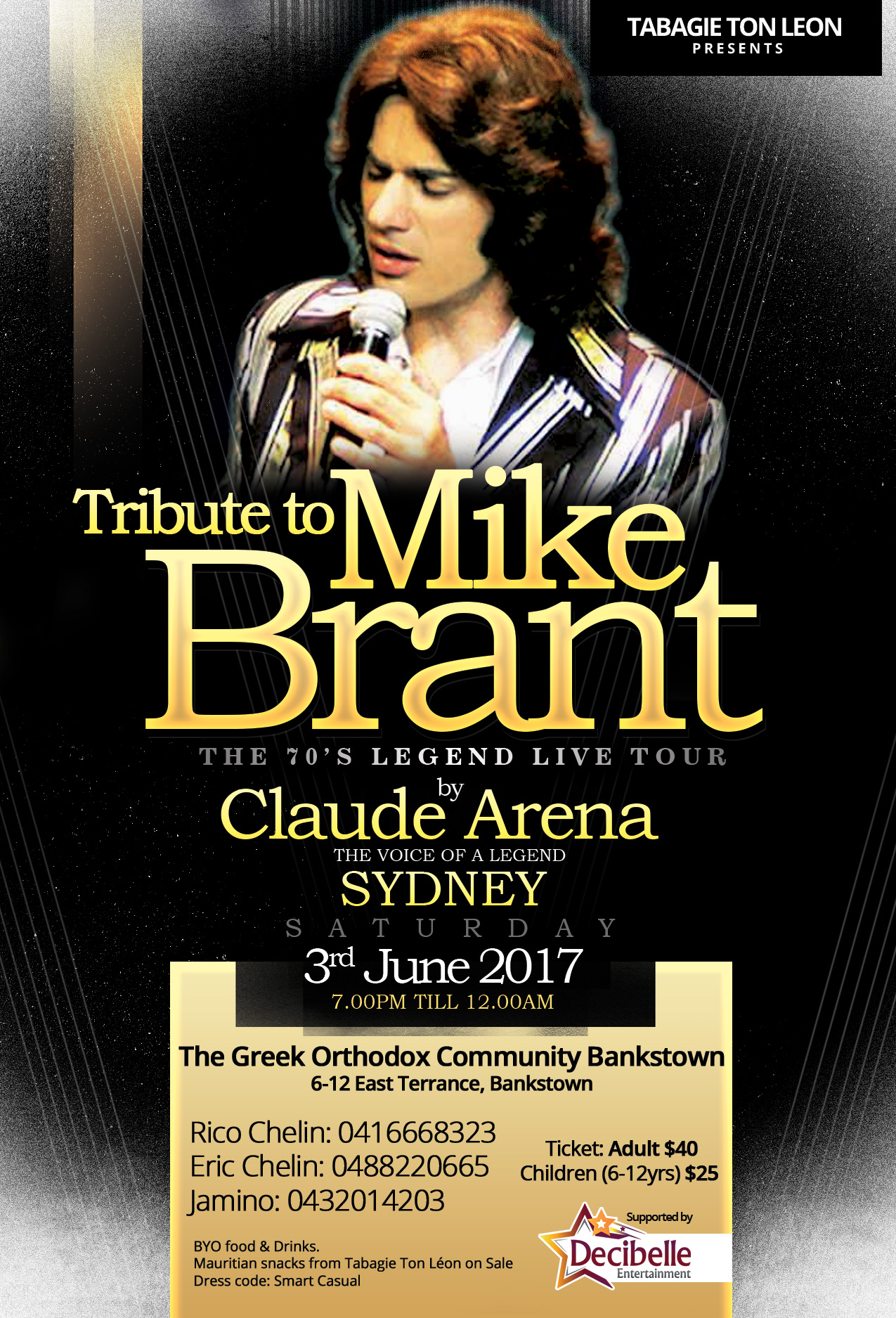 The Mike Brant Tribute Show
