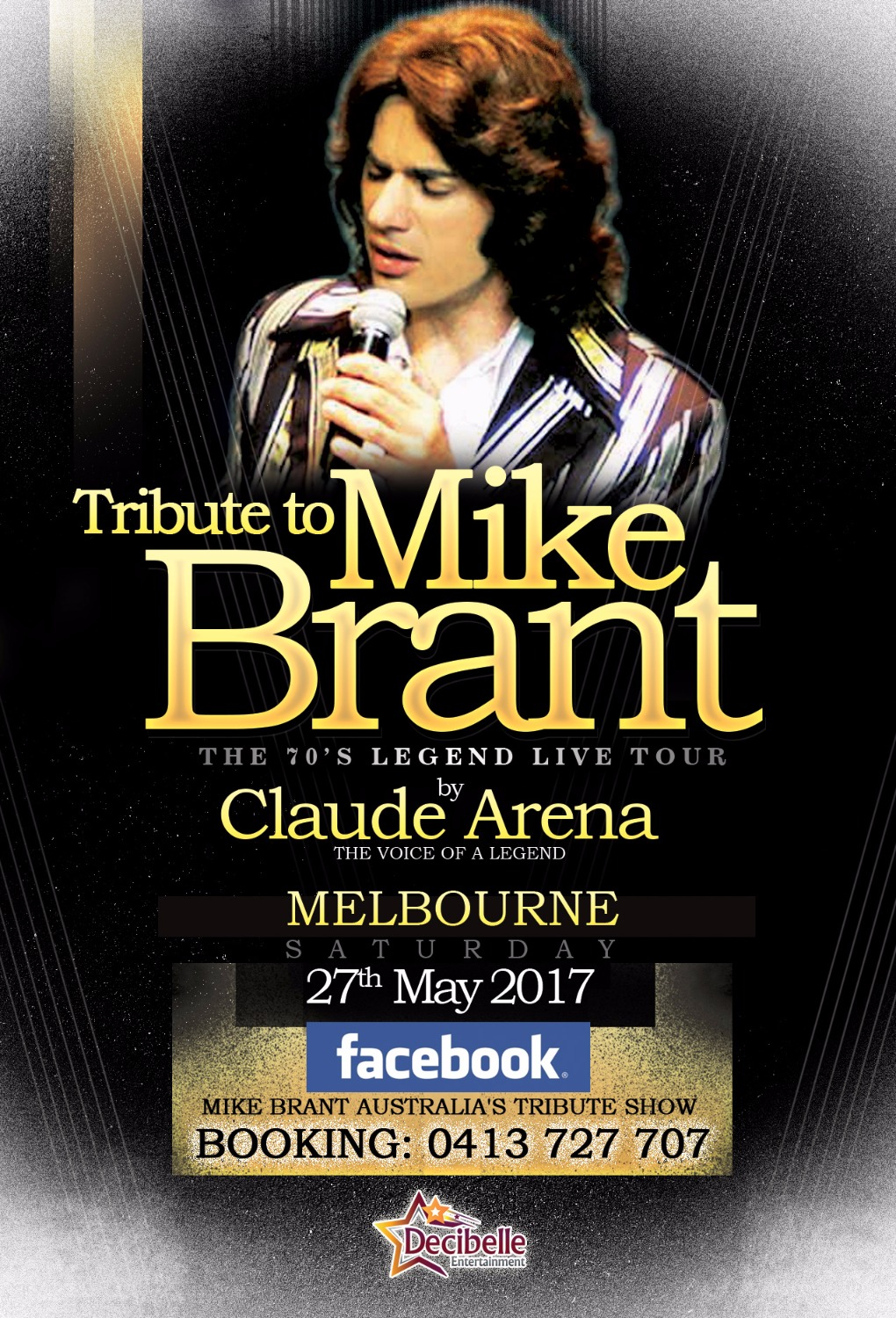 Mike Brant Tribute Show