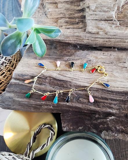 Confetti Chain Bracelet