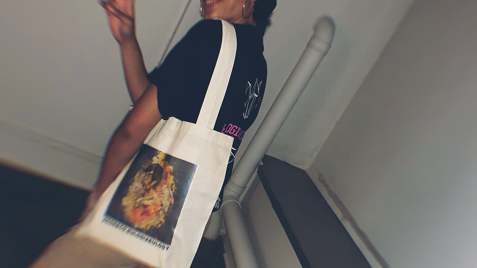 NEWSPRINT TOTE BAG (S)