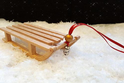 Wooden Sledge