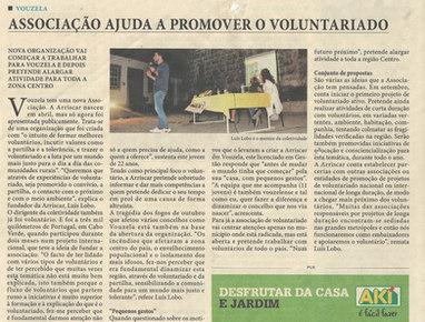 Associação ajuda a promover o voluntariado