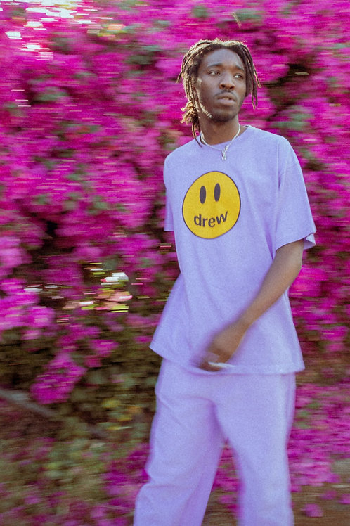 Mascot SS Tee - Lavender - by Drew Hype