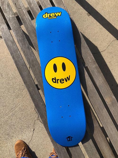 Mascot Skate Deck - Royal Blue - by Drew Hype