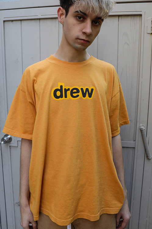 Secret SS Tee - Golden Yellow - by Drew Hype