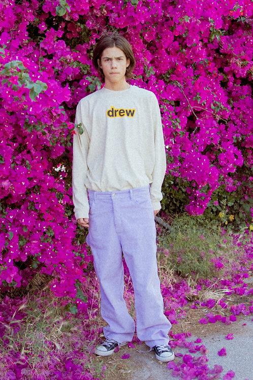 Drew Corduroy Carpenter Pants - Lavender - by Drew Hype