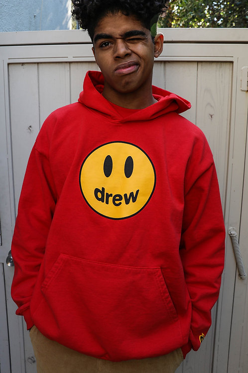 Mascot Hoodie - Red - by Drew Hype