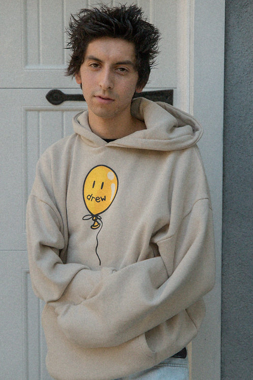 Balloon Hoodie - Sand - by Drew Hype