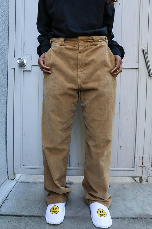 Chaz Corduroy Pants - Camel - by Drew Hype