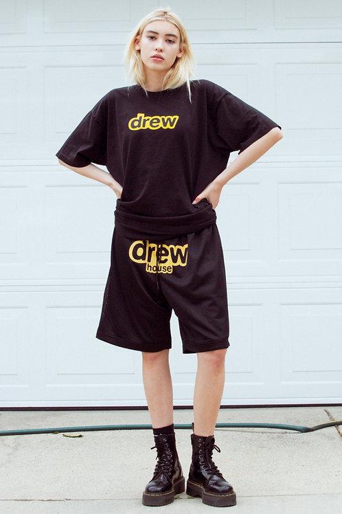 Drew House Mesh Shorts - Black - by Drew Hype