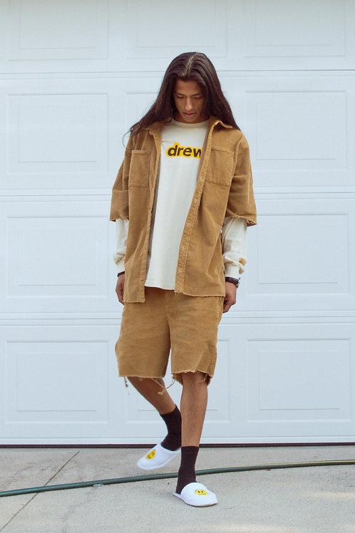 Drew Corduroy Shorts - Camel - by Drew Hype