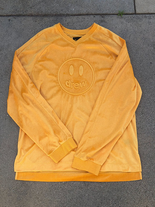 Mascot V-Neck LS Top - by Drew Hype