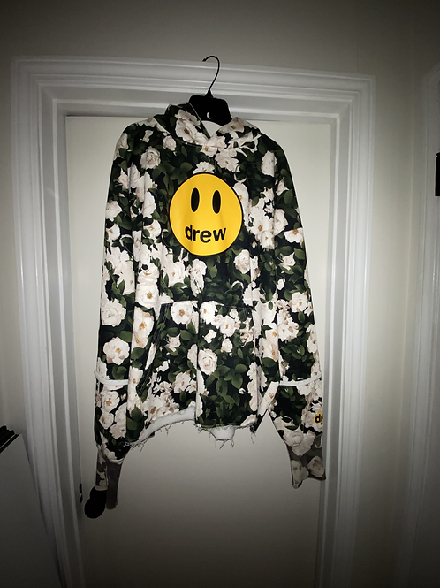 Mascot Deconstructed Hoodie - Iceberg Roses - by Drew Hype