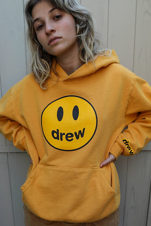 Mascot Hoodie - Golden Yellow - by Drew Hype