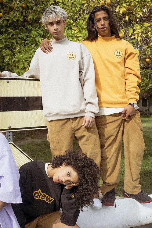 Drew House Mock Neck Sweatshirt - Sand - by Drew Hype