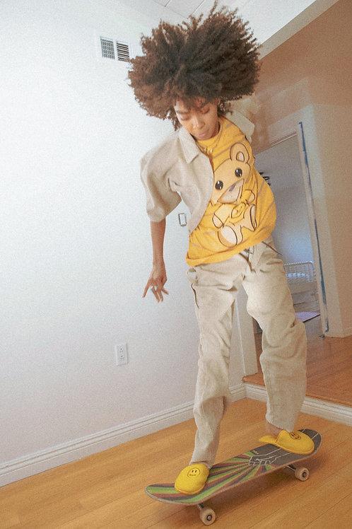 Drew Corduroy Carpenter Pants - Khaki - by Drew Hype