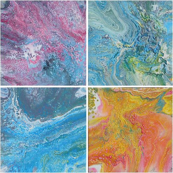Dragon Skins, Four Panel Series