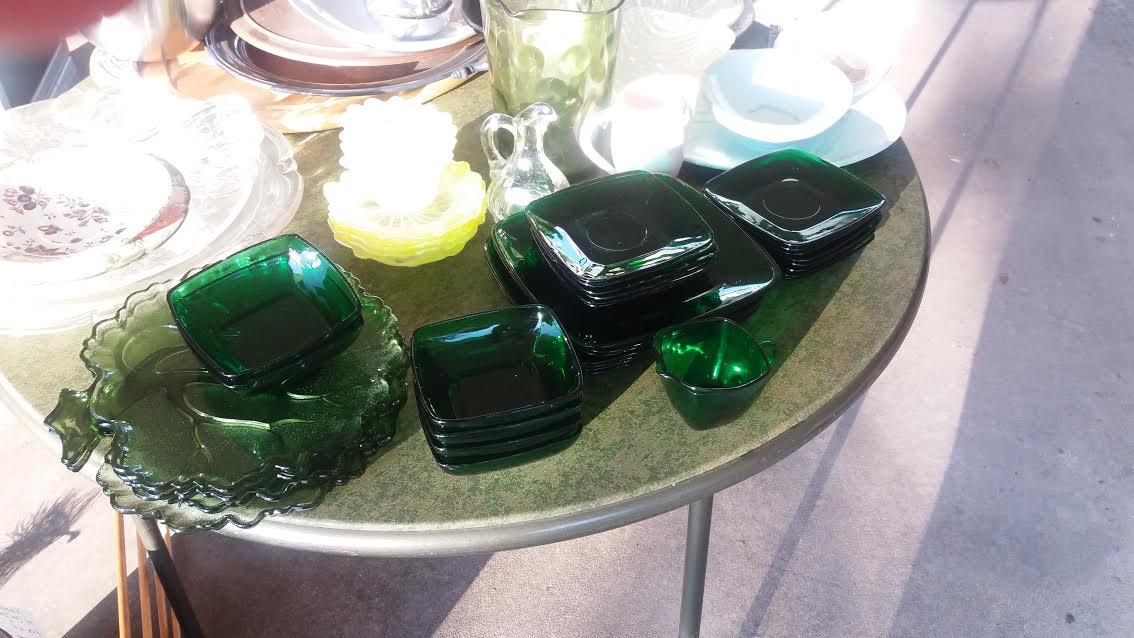 green dishers