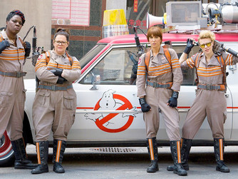 Ghostbusters 2016: A Movie Review & How'd Leslie Do? #ghostbusters #LeslieJones