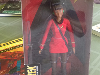 That Time I Bought A Barbie Doll #StarTrek #Uhura